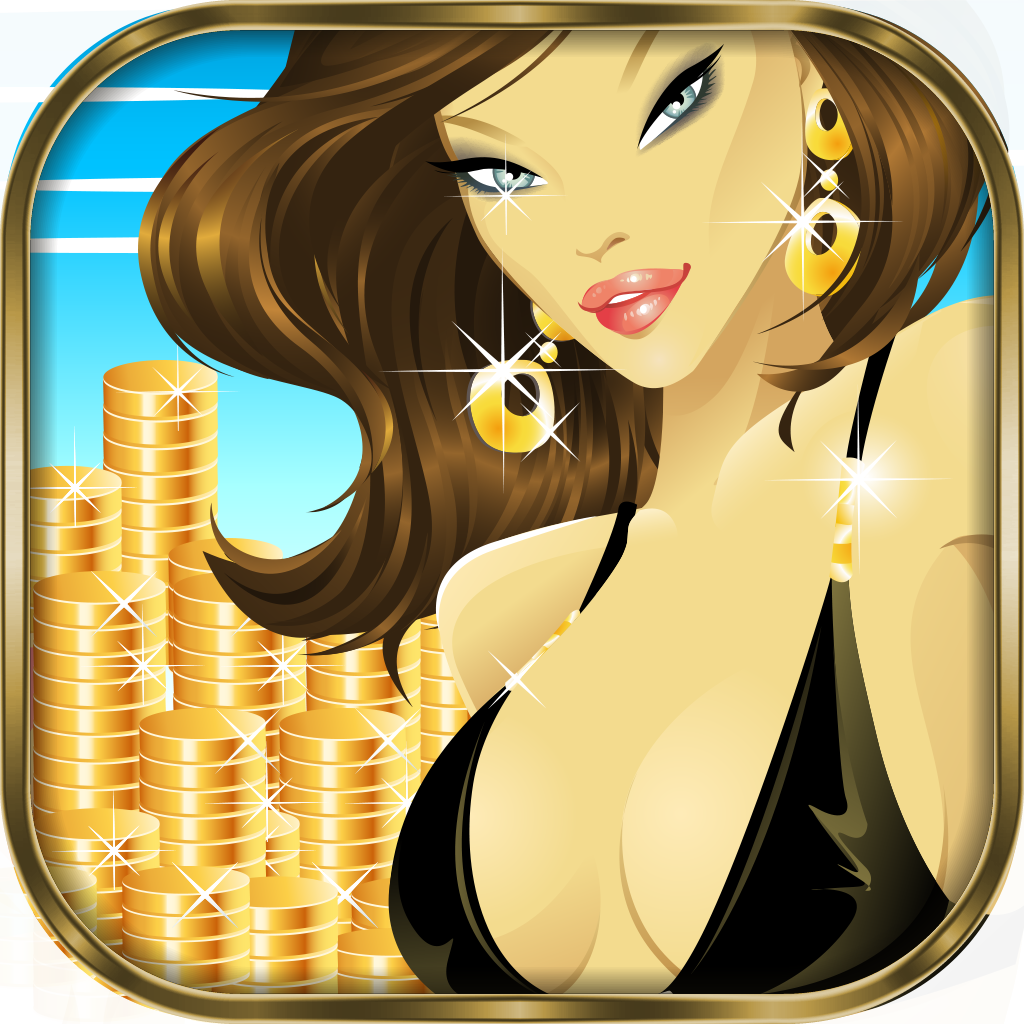 777 Bikini Lucky Summer Beach Slots - Fun Holiday Casino Slot Machine Game with Bonus Jackpot